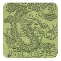 EMBOSSED DRAGON